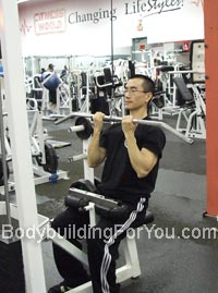 lat pull down exercise