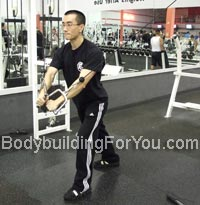 chest cable crossover exercise