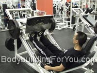 calf raise leg press machine